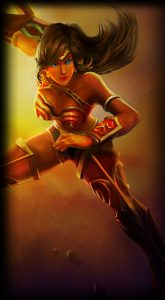 Spectacular Sivir skin for League of Legends ingame picture splash art