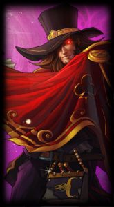The Magnificent Twisted Fate skin for League of Legends ingame picture splash art