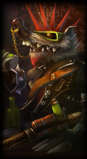 Vandal Twitch skin for League of Legends ingame picture splash art