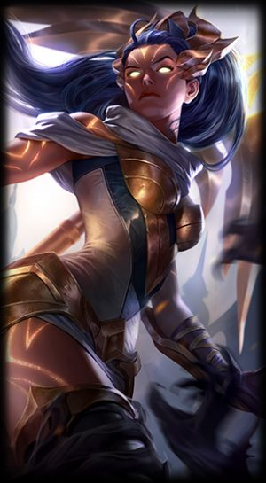 Arclight Vayne skin for League of Legends ingame picture splash art