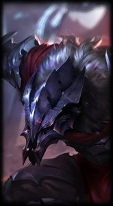 Marauder Warwick skin for league of legends ingame picture splash art