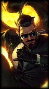 Secret Agent Xin Zhao skin for League of Legends ingame picture
