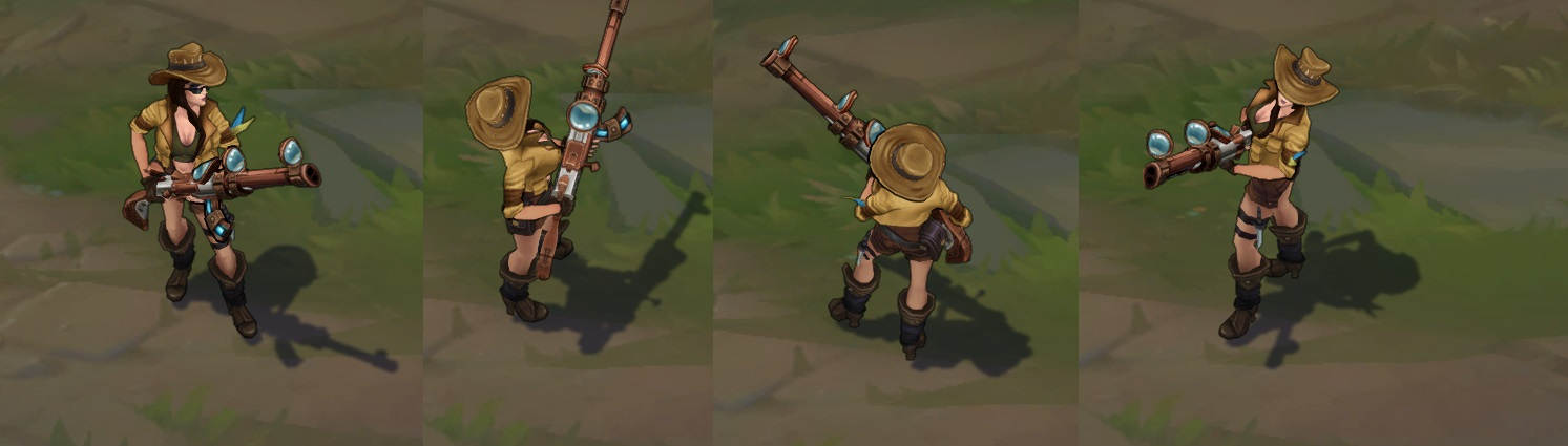 Safari Caitlyn - How to get this skin? Lolskinshop.com