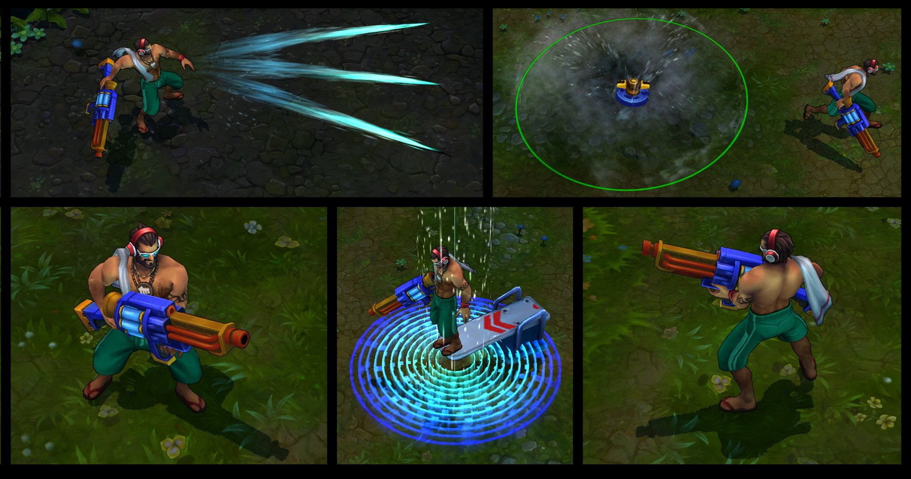 how to use graves in lol