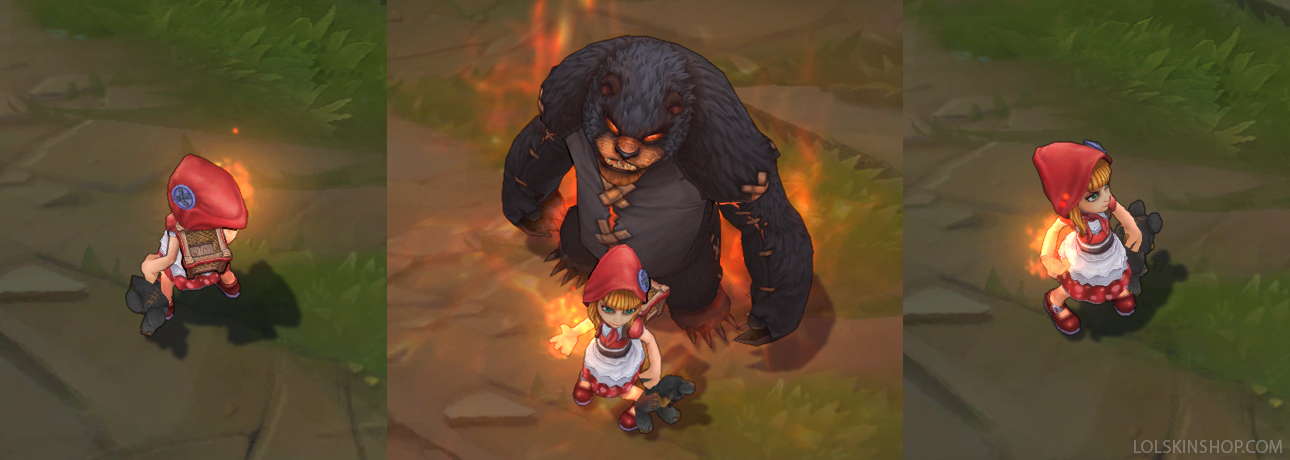 Red Riding Annie - How to get this skin? Lolskinshop.com