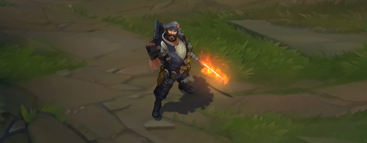 Special Forces Gangplank - LoL - 74.0KB