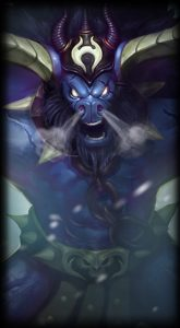 Unchained Alistar skin for League of Legends ingame picture splash art