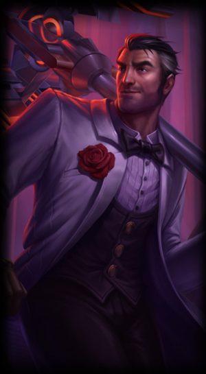 Debonair Jayce for League of Legends ingame picture splash art