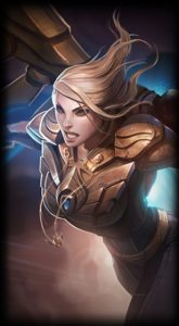 Aether Wing Kayle skin for League of Legends ingame picture splash art
