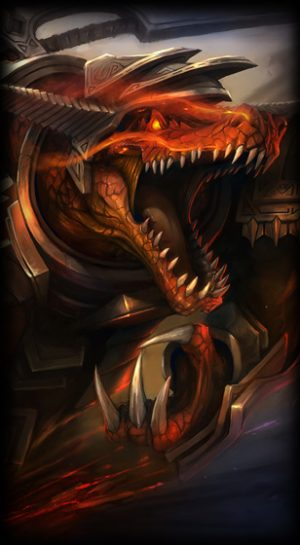 Bloodfury Renekton load screen