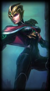 Crimson Elite Riven skin for League of Legends ingame picture splash art