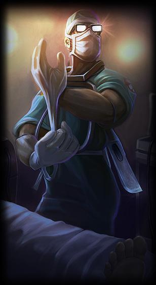 Surgeon Shen League Of Legends Skin Lol Skin