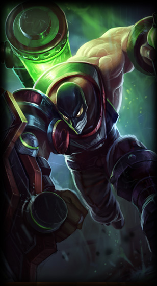 Augmented Singed skin for League of Legends ingame picture splash art