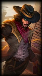 High Noon Twisted Fate skin for League of Legends ingame picture splash art