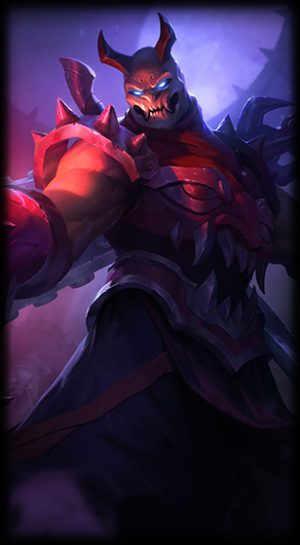 Blood Moon Shen Loading Screen