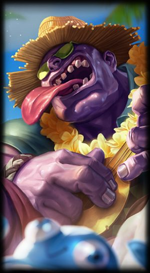 Dr Mundo Pool Party Loading Screen