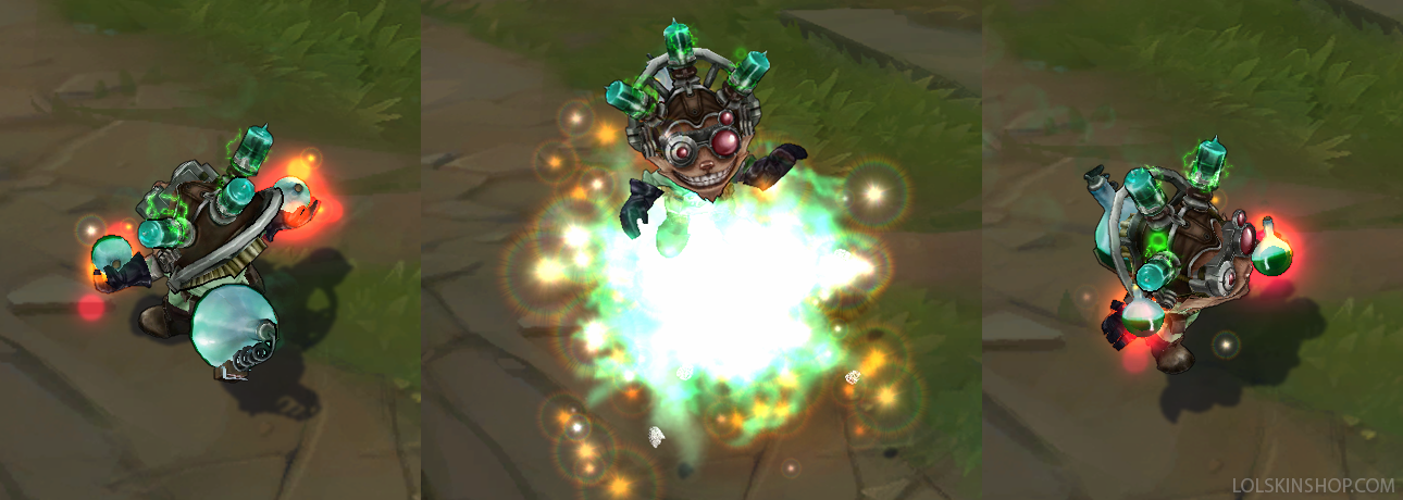 Mad Scientist Ziggs Skin For Sale Get It Now