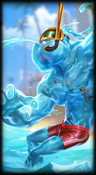 Pool Party Zac Lol Skin Spotlight Pictures And Videos