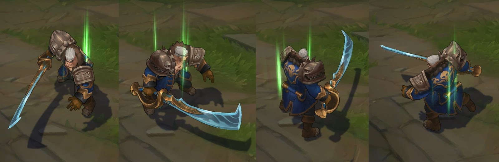 Rogue Admiral Garen Lol Skin Spotlight Now For Sale