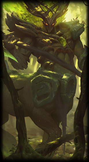 Elderwood Hecarim Loading Screen