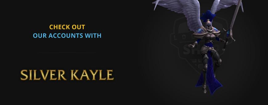 Silver Kayle rare skin