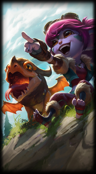 Dragon Trainer Tristana Loading Screen