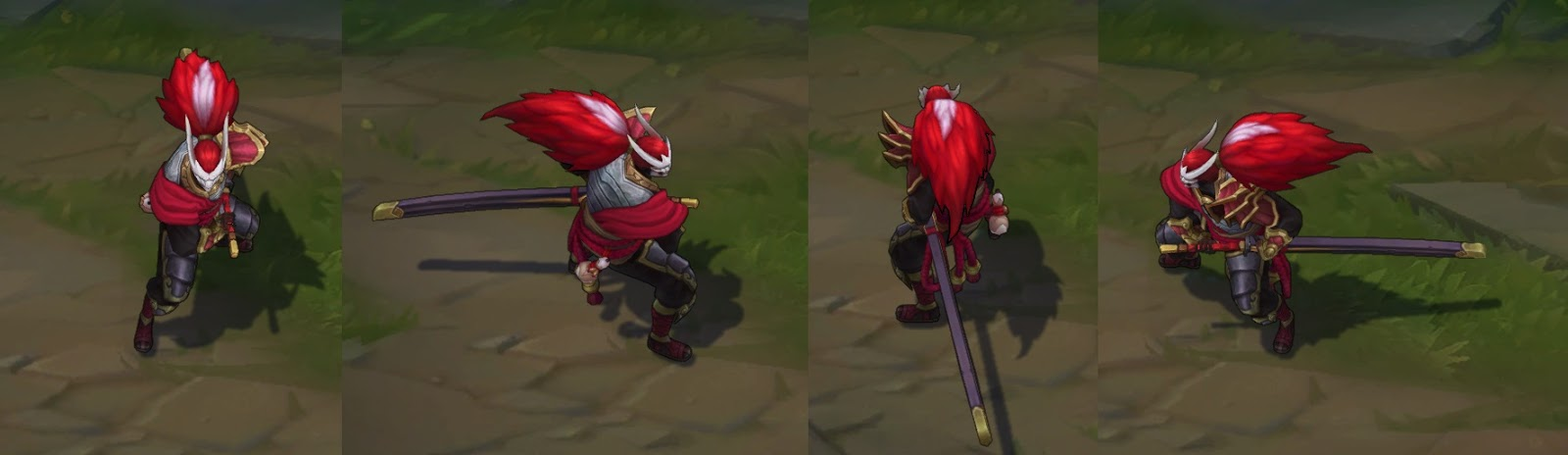 Blood Moon Yasuo skin for League of Legends