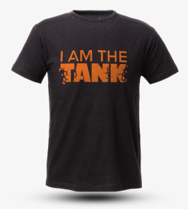 T-Shirt I am the TANK