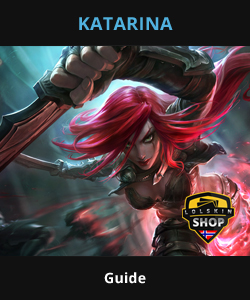katarina guide, katarina Lol guide, katarina league of legends guide