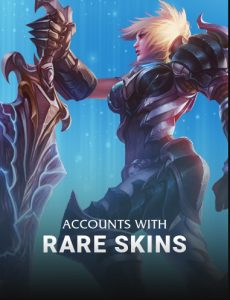 Rare Skins Accounts Background