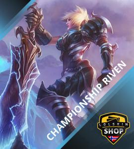 Buy vintage championship Riven, championship Riven skin, buy championship Riven skin