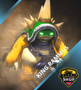 Buy King Rammus, King Rammus skin, buy King Rammus skin