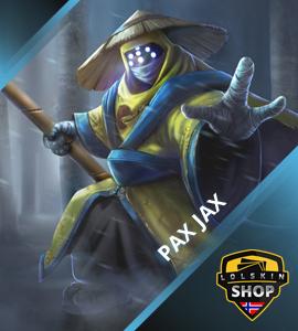 Buy Pax Jax, Pax Jax skin, buy Pax Jax skin