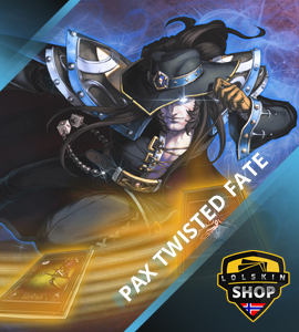 Buy Pax Twisted Fate, Pax Twisted Fate skin, buy Pax Twisted Fate skin