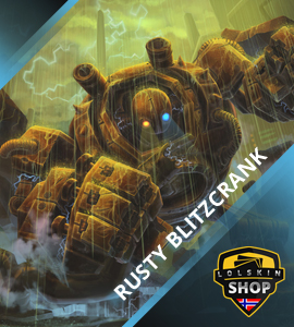 Buy Rusty Blitzcrank, Rusty Blitzcrank skin, buy Rusty Blitzcrank skin