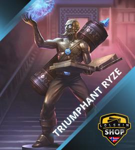Buy Triumphant Ryze, Triumphant Ryze skin, buy Triumphant Ryze skin