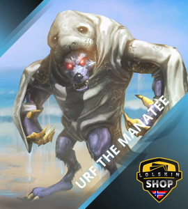 Buy Urf the manatee Warwick, Urf the manatee Warwick skin, buy Urf the manatee Warwick skin
