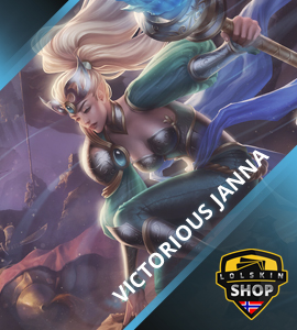 Buy Victorious Janna, Victorious Janna skin, buy Victorious Janna skin