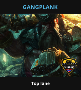Gangplank guide, Gangplank Lol guide, Gangplank league of legends guide