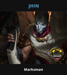 Jhin guide, Jhin Lol guide, Jhin league of legends guide