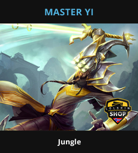 Master Yi guide, Master Yi Lol guide, Master Yi league of legends guide