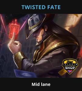Twisted Fate guide, Twisted Fate Lol guide, Twisted Fate league of legends guide