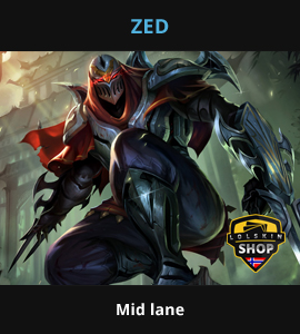 Zed guide, Zed Lol guide, Zed league of legends guide