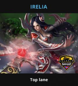 Guide Irelia