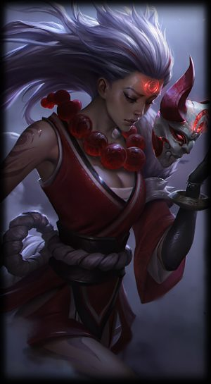 Loading Screen Blood Moon Diana