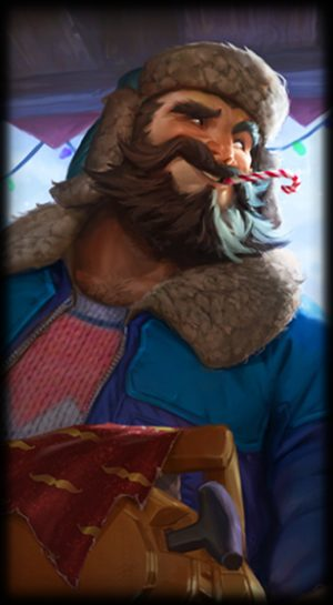 Snow Day Graves Loading Screen
