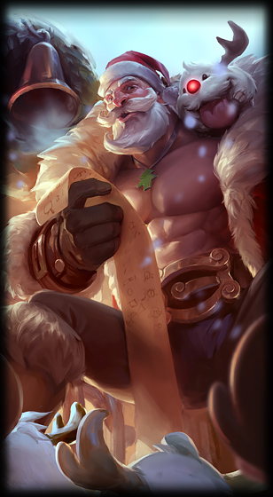Santa Braum Loading Screen
