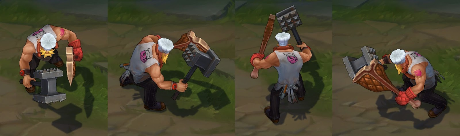 Butcher Olaf skin