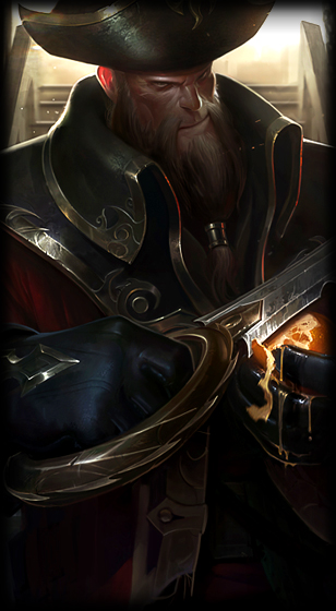 Captain Gangplank Loading Screen
