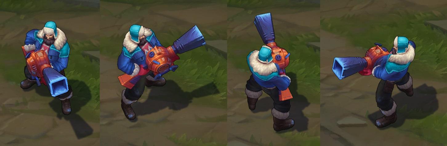 Snow Day Graves Lol Skin Spotlight League Of Legends Skin